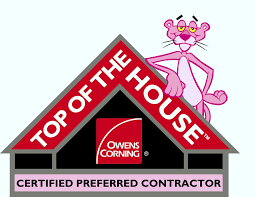 Owens Corning certified roofing contractor in Amarillo