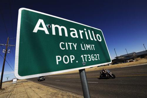 Amarillo Texas population