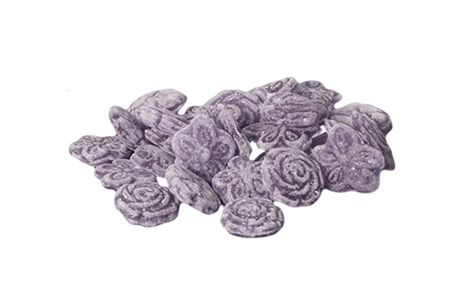 portada violetas desenvueltas