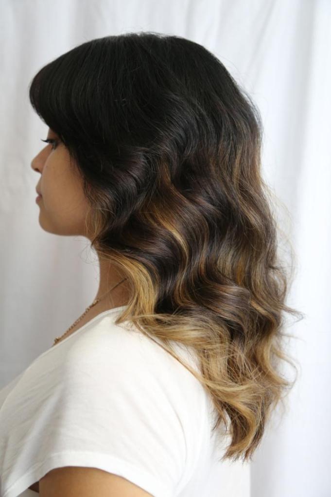 Balyage hair style Peterborough