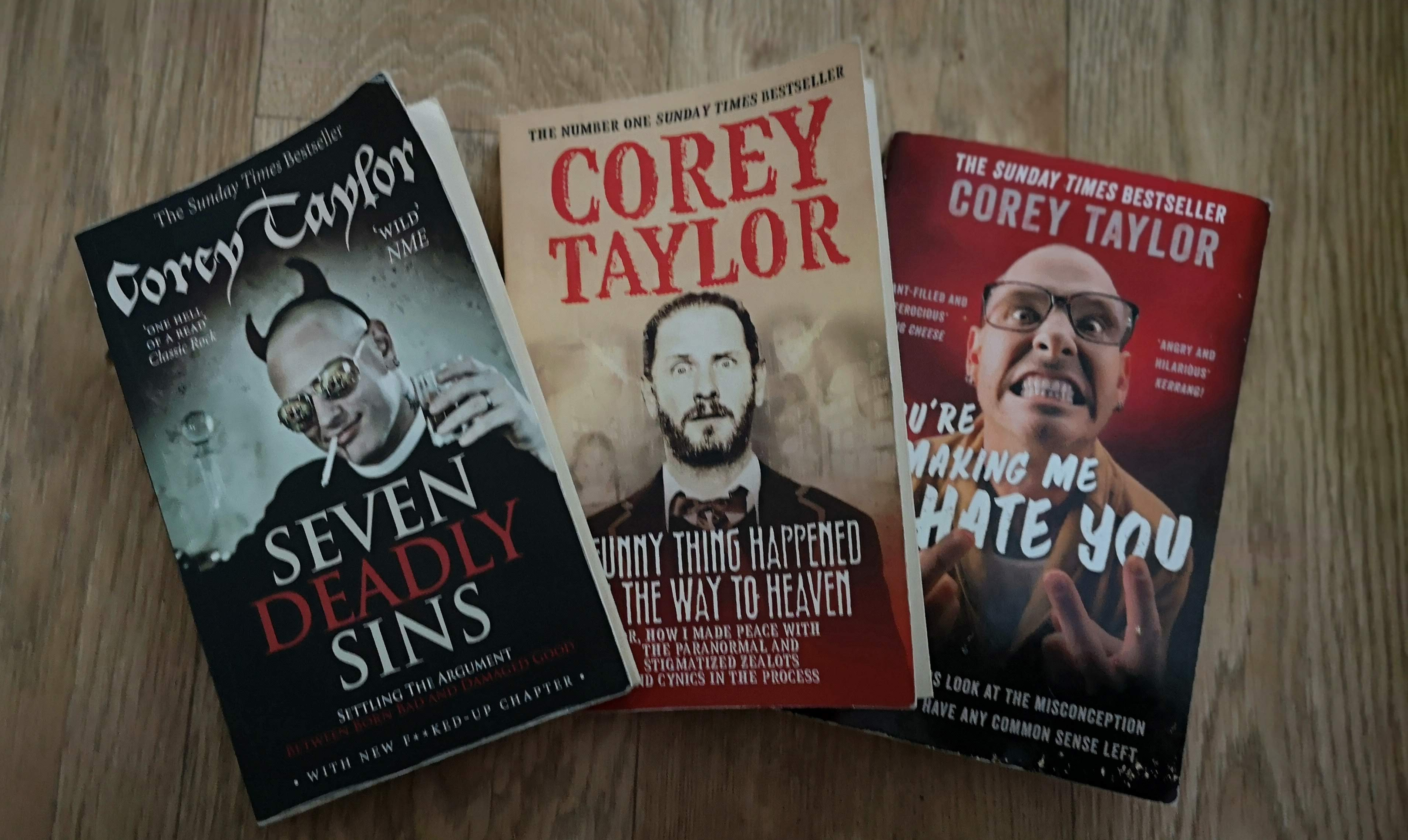 Corey Taylor Books Review: Angry, Hillarious and Venom Driven!