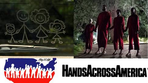 Hands Across America Symbolism Us (2019)