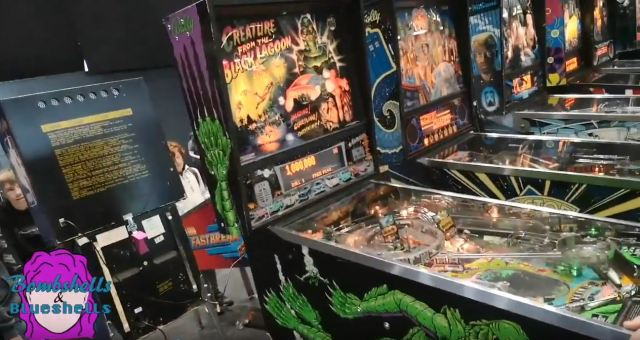 Retro Creature from the Black Lagoon Pinball Machine Manchester Play Expo 2019