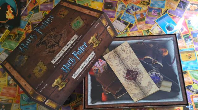 Harry Potter: Hogwarts Battle Coopertative Deck Building Card Game Trunk