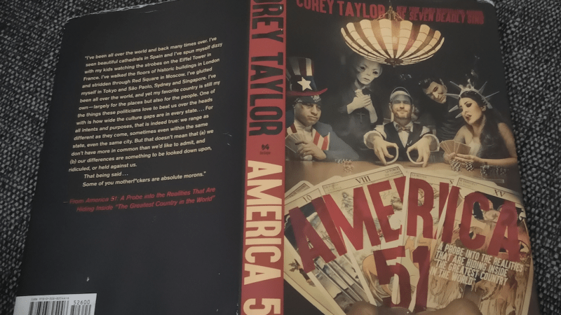 Corey Taylor Book Review: America 51 – Red, White and Blue in the Face