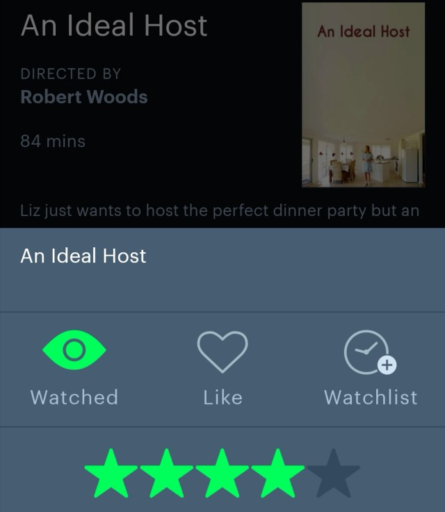 An Ideal Host (2020) Letterboxd
