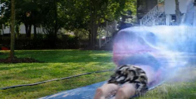 Ghost Shark Slip n Slide Kill