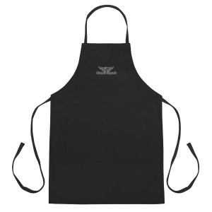 """Bomb Squad """"Wings"""" Embroidered Apron"""