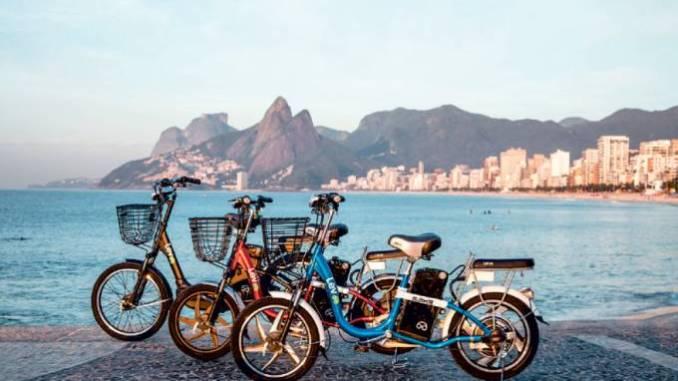 Até o dia 18 deste mês, quem quiser experimentar as e-bikes da Lev poderá dar uma volta na orla de Ipanema e Leblon