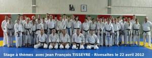 Stage de Ligue Rivesaltes Avril 2012