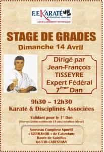 Stage de Grade 14 avril 2013