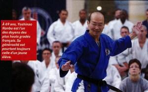 Yoshinao NANBU lors du stage des Experts Japonais à Paris en septembre 2012