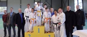 Bompas en Coupe de France de Nanbudo 2014