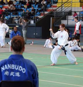 Nathalie 2e en Kata Senior Féminin