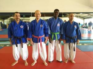Maître Yoshinao Nanbu, Isidore, Christian