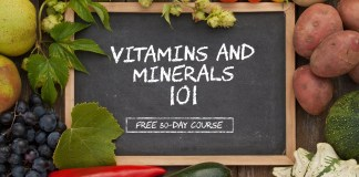 Vitamins and Minerals 101 (FREE 30-DAY COURSE)