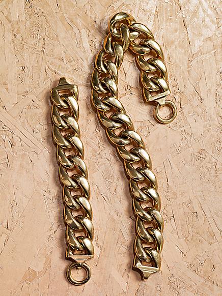 Celine-Spring-2012-Gold-Link-Chain-Necklace
