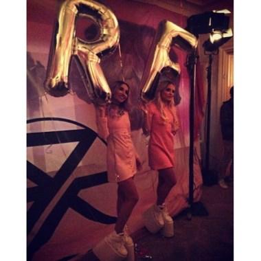 Rebecca & Fiona party! #rebeccafiona #appartamento