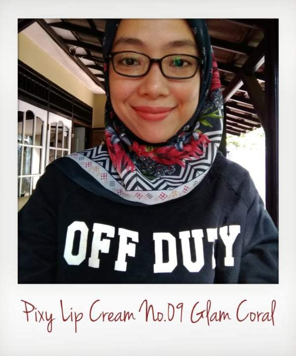Pixy Lip Cream No.09 Glam Coral