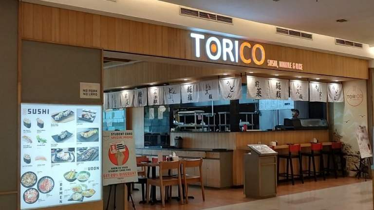 Kuliner Siang di Torico Sushi Palembang