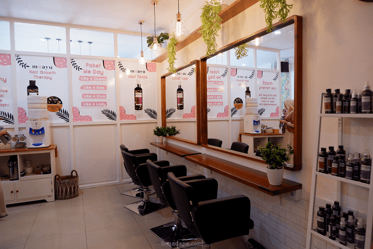 Interior Salon MOZ5 Palembang Square 5