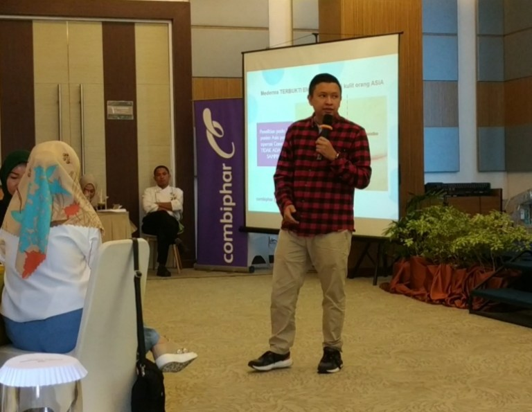 Bp. Hermawan Helmi, Brand Manager dari Combiphar