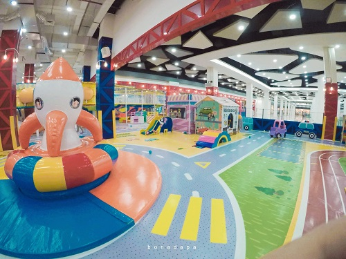 Arena Bermain Kidzilla Palembang Trade Center