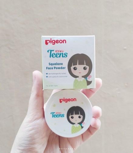 Bedak tabur wajah untuk remaja