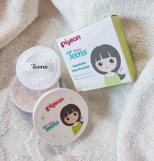 Pigeon Teens Bedak Tabur untuk remaja