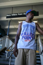 Subway Series Queens tank heather grey