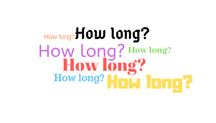 Image result for how long