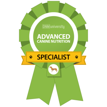 Advanced Canine Nutrition Specialist