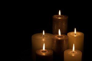 candles, christmas, dark