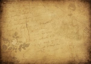 background image, flowers, font