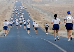 runners, competition, race