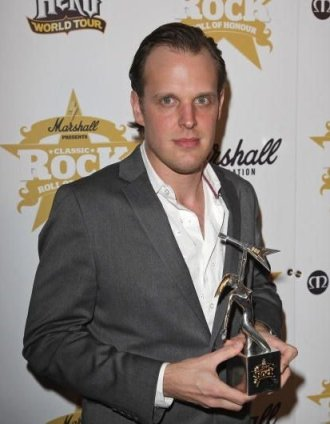 Joe Bonamassa at Classic Rock Awards