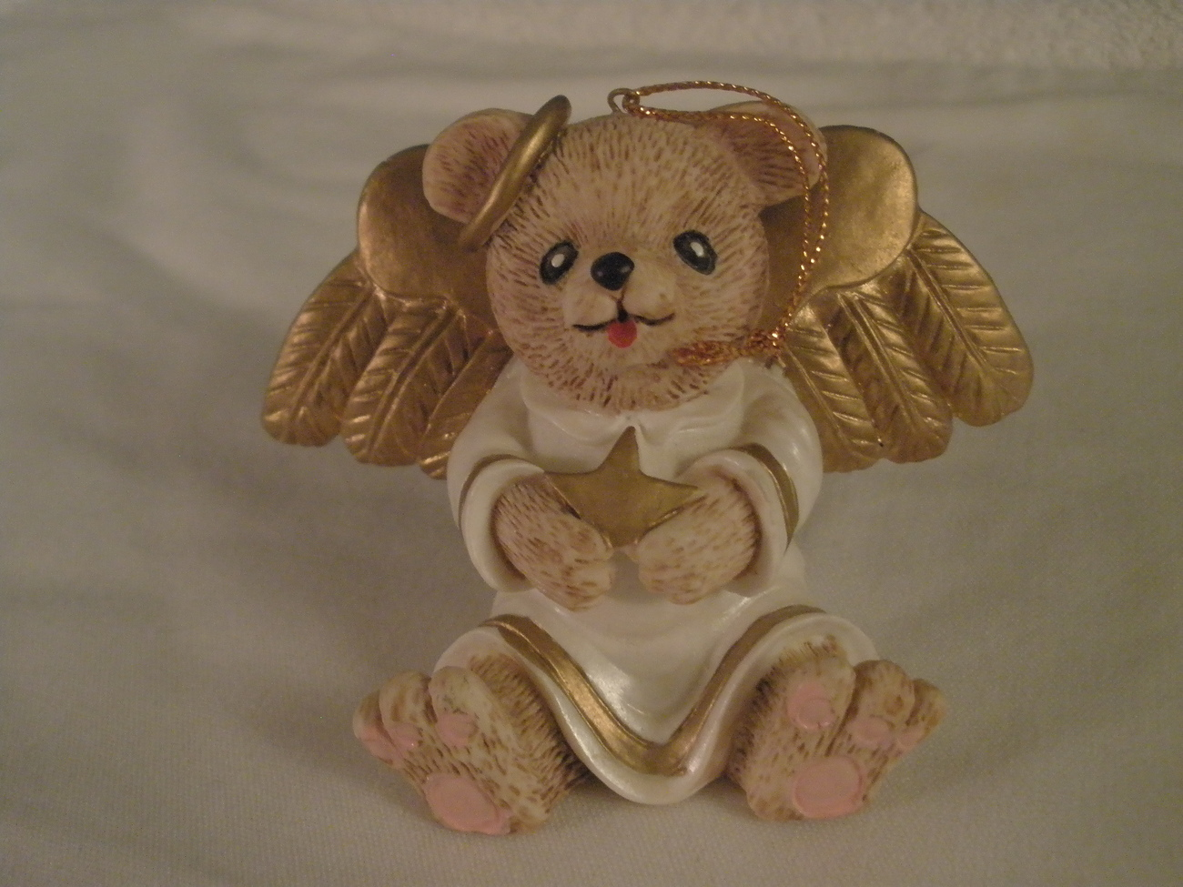 Angels Gold Christmas Outdoor Yard Art
