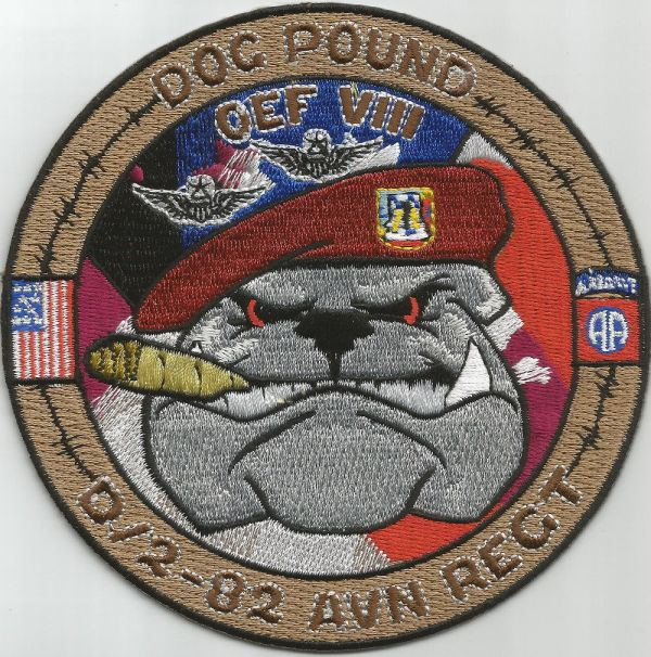 ARMY 2nd SQUADRON 82nd AVIATION REGIMENT D Co MILITARY ...