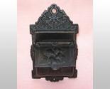 Vintage Venus and Cupid Cast Iron Match Holder Safe