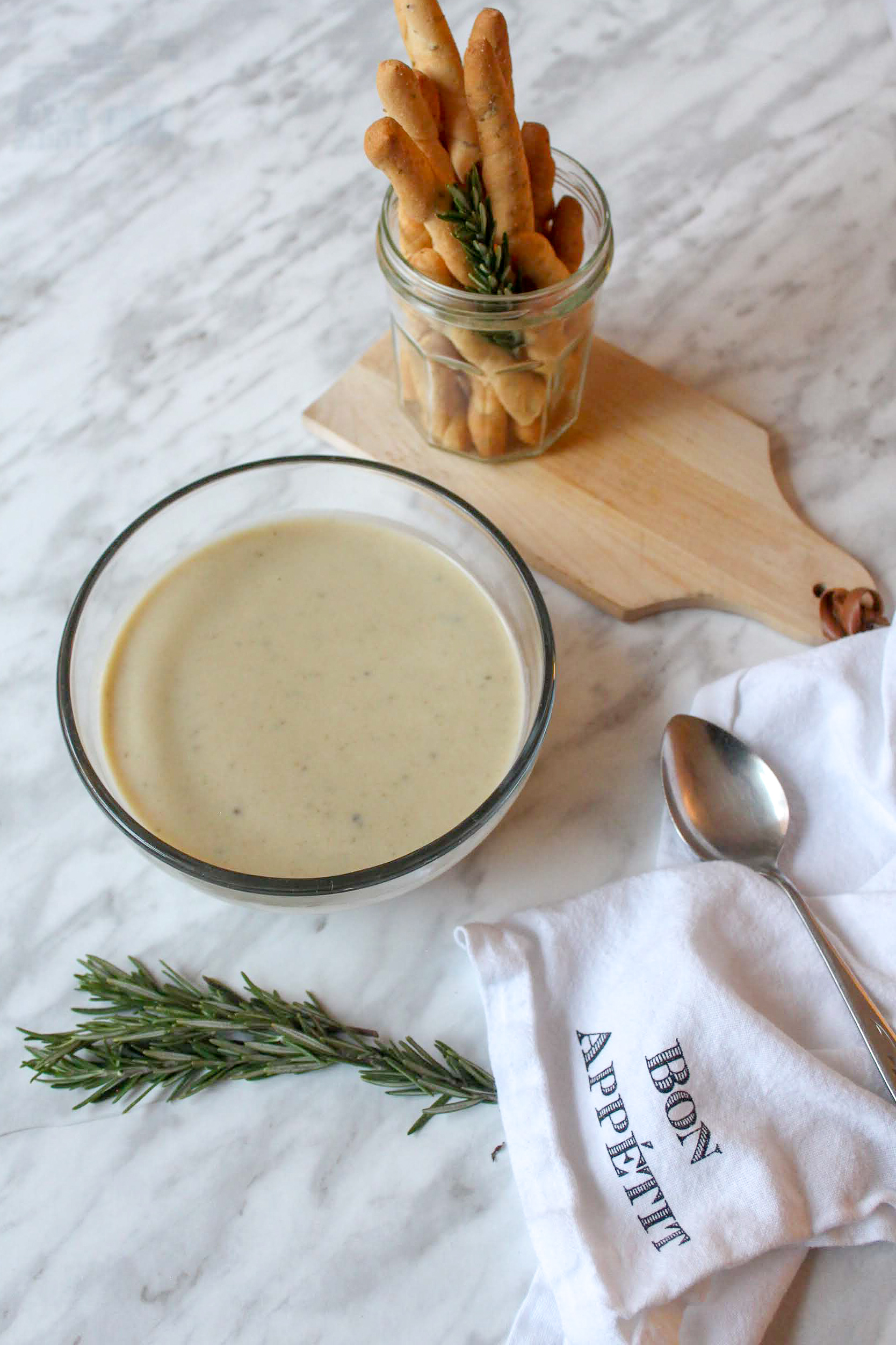 How to make a flavourful French Rosemary Leek soup