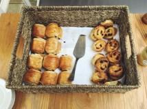 Fresh pastries for breakfast!