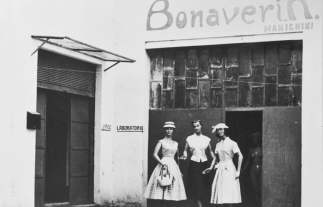 Outside the Bonaveri factory
