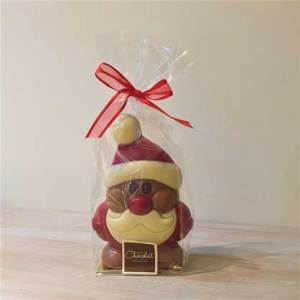Large Milk Chocolate Santa