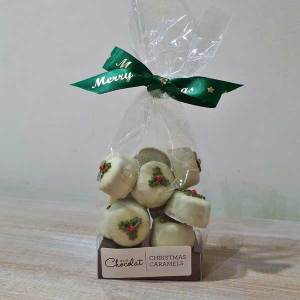 White Chocolate Christmas Caramels