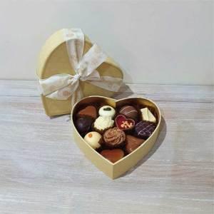 Assorted Luxury Heart Box - Vanilla