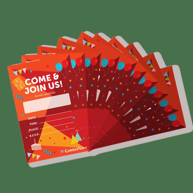 10 Invites