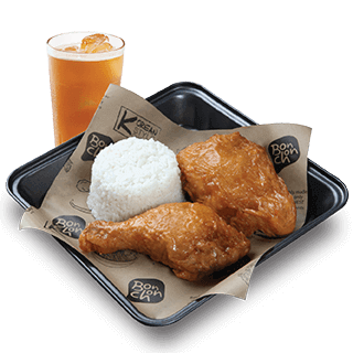 Bonchon 2pc Chicken Boxed Meal