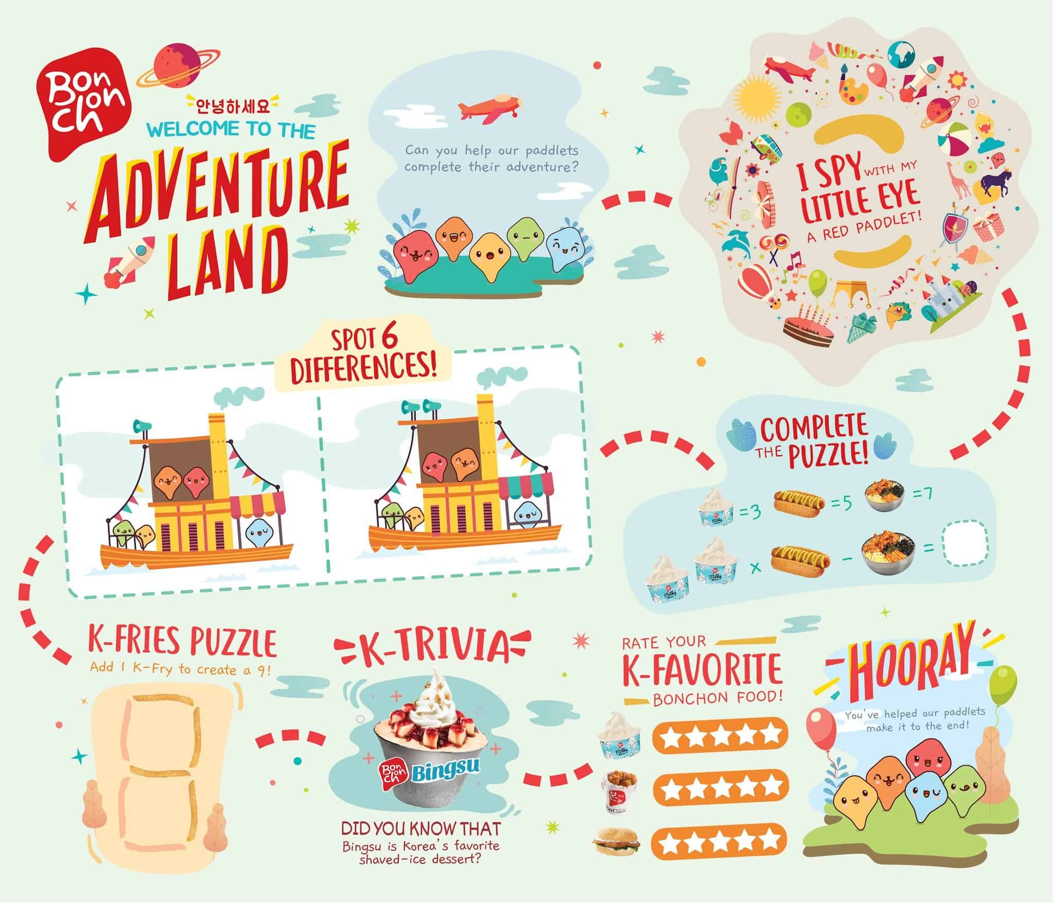 Kiddie Adventure Meal - Activity Sheet 2