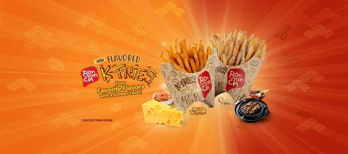 Flavored K-Fries Banner