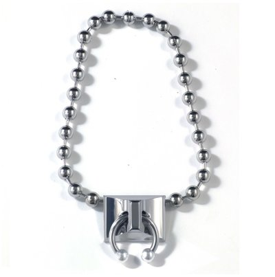 Pierced Ball Chain Necklace